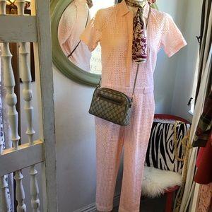 Vintage Logo Gucci Classic Shoulder Bag